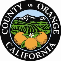 County of Orange California